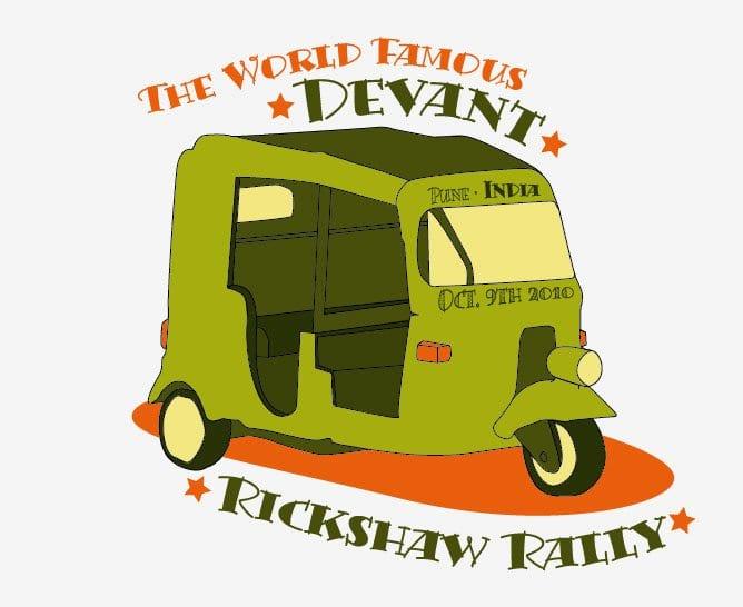 Devant Ricshaw rally
